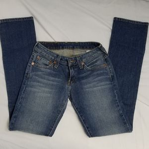 Lucky brand Jeans lola straight leg size 24